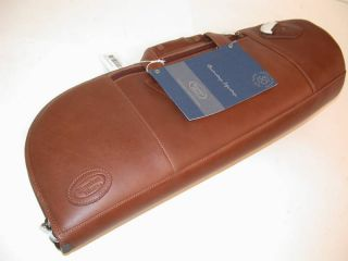 Reunion Blues Leather Alto Sax Bag Chesnut Brown New
