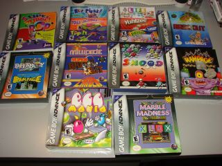 Lot of 10 Game Boy Advanced Games all brand New Factory sealed GBA Egg