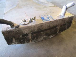 used aluminum 33 gallon gas fuel tank marine boat