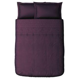IKEA Tanja Brodyr Duvet Cover and Pillowcases Set Purple Queen Full