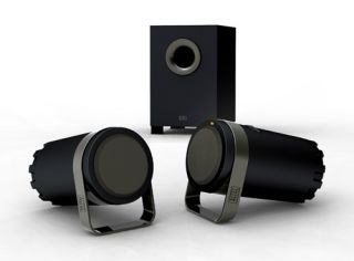 ALTEC LANSING BX1221 COMPUTER SPEAKERS AND SUBWOOFER GREAT SOUND