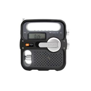Eton Solarlink FM Am Shortwave Portable Outdoor Radio