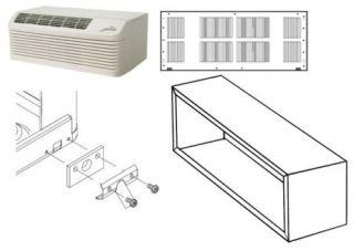 Amana PTC093E35AXXX 8,700 BTU PTAC Air Conditioner w/ Heat Sleeve and