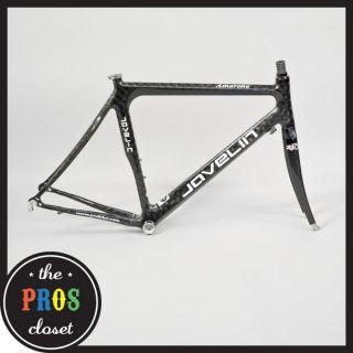 Javelin Amarone Carbon Road Bike Frame Set 54 cm Medium Monocoque Race