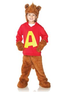 Alvin and The Chipmunks Child Halloween Costume
