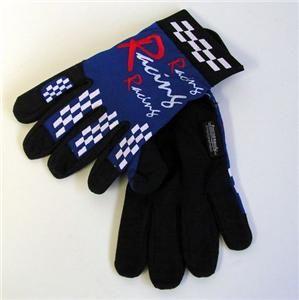 Alpena Racing Driving Drivers Gloves Auto Car Truck LG Blue