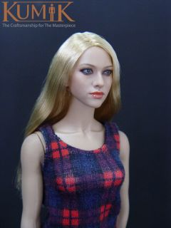 KUMIK Amanda Seyfried 1/6 FIGURE HEAD SCULPT FITS 12 FEMALE BODY
