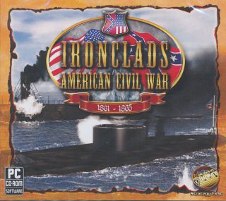 American Civil War 1861 1865 Iron Clads Naval Combat Sim PC Game