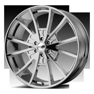 22 Wheels Rims American Racing Hot Rod El Rey Chrome Navigator F150