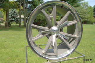 American Racing Daytona 18x9 Ford Mopar Wheel Vintage Grey VN801