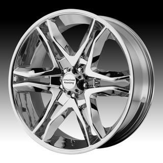 16 Wheels Rims American Racing Mainline Chrome with 285 75 16 Terra
