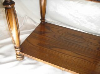 Furniture Wood End Table Inlaid Top Serial 2872150 Altavista VA