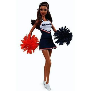 New Auburn University Barbie Doll African American