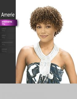 Vanessa Short Curly Realistic Full Wig Amerie