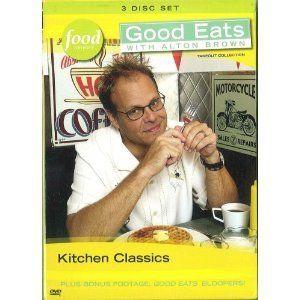 Food Network Good Eats with Alton Brown Kitchen Classics dvd Vol 19