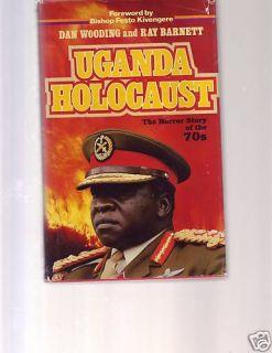 Uganda Holocaust book Idi Amin HARDCOVER w DJ