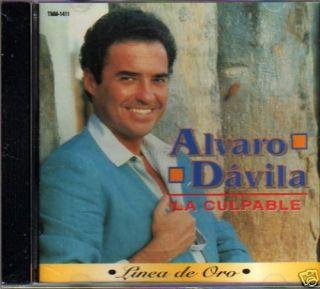 Alvaro Davila La Culpable Linea de Oro Music CD Exitos