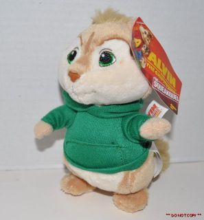 NEW ALVIN & THE CHIPMUNKS THE SQUEAKQUEL PLUSH SOFT TOY THEODORE 6