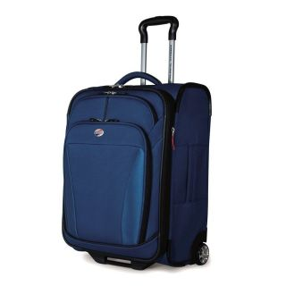 American Tourister Luggage iLite Dlx 29 inch Upright 41764 Deep Blue