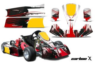 AMR Racing Graphic Decal Kit Paul Tracy Pkt Kid Jr Kart Cadet Part