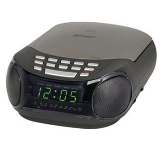 lifelong am fm clock radio with bud stereo earphones. Black Bedroom Furniture Sets. Home Design Ideas