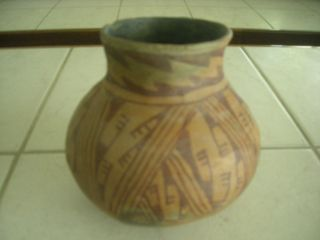 Anasazi hohokam Pottery Jar San Carlos Red on Buff