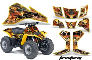 AMR ATV Graphics Sticker Kit Suzuki LTZ80 Lt 80 Parts
