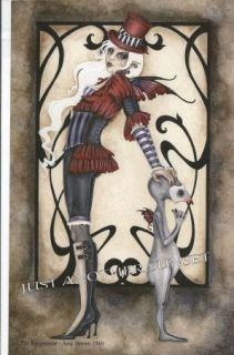 Amy Brown Print 5 5x8 5 The Ringmaster Shadow Circus Fairy Faery Grunt