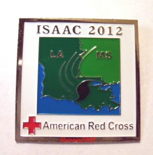 Isaac American Red Cross Pin If You Helped Get This Pin