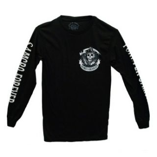 Sons of Anarchy SAMCRO Forever Reaper Logo TV Show Adult Long Sleeve T
