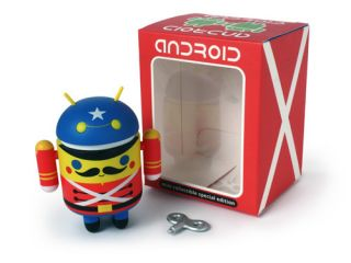 Android Mini Collectible toy soldier figure Andrew Bell deadzebra