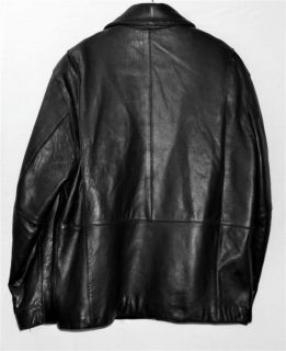 Andrew Marc New York Butter Leather Mens Jacket Sz Medium
