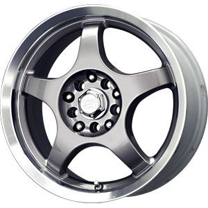 14 MB Motoring Wheels Rims 4x100 4x114 3 Honda Civic Honda Accord