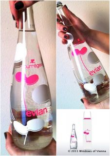 Evian 2012 Andre Courreges Special Limited Edition Collectors Glass