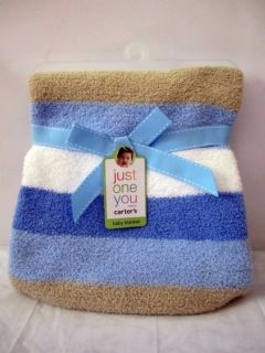 Amy COE Carters Tiddliwinks and Soft Cuddly Chenille Blankets You