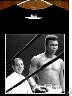 Muhammad Ali Angelo Dundee T Shirt Cassius Clay Angelo Dundee