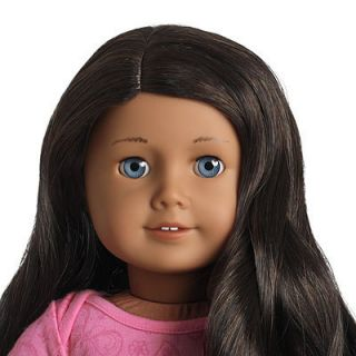 American Girl Doll 49 New with Box and Necklace Blue Eyes