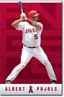 MLB Anaheim Angels Albert Pujols 2012 Poster
