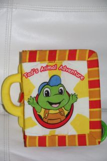 Tods Animal Adventure Baby Soft Activity Book w Music Story Lullaby