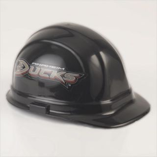 Anaheim Ducks Wincraft Black Hard Hat Helmet OSHA Approved One Size