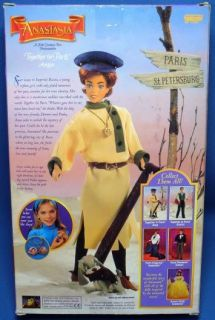 Anastasia Doll Together in Paris w Pooka The Dog 1997