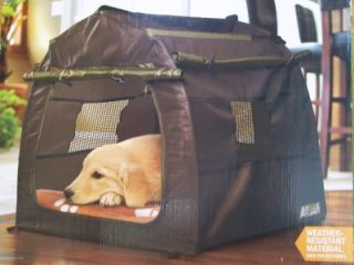 Animal Planet Portable Dog Kennel Indoor Outdoor Pup Tent Pet Free