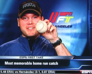 ANDREW McCUTCHEN 16TH CAREER HOME RUN BASEBALL   GAME USED