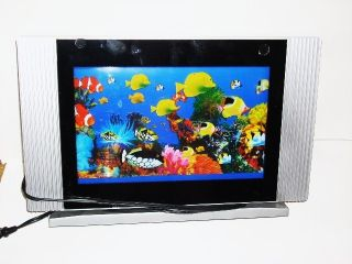 Animated Tropical Fish Motion Lamp 16 Diagonal Flat Screen