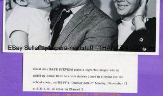 RARE Family Affair Kaye Stevens Brian Keith Anissa J