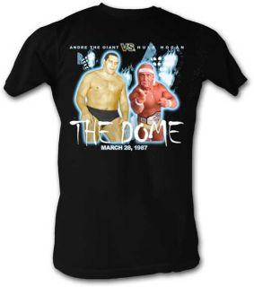Andre The Giant The Dome Hulk Hogan Wrestlemania 3 Lightweight T Shirt