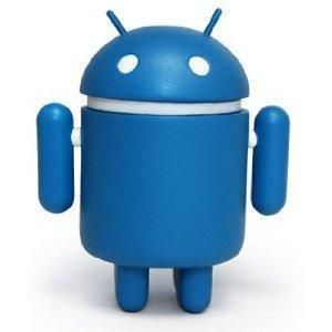 Bluebot Android Series 02 Mini Vinyl Toy Figure Andrew Bell