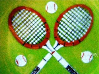 Annemarie Davidson Handcrafted Tennis Enamel Plate Mint