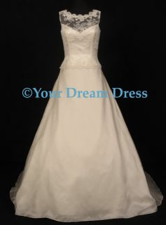 Anne Barge 461 Lace Bridal Wedding Dress Gown $6 4K New