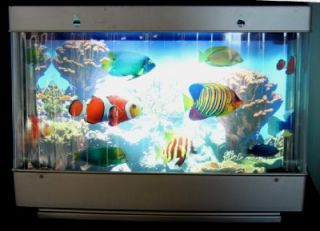 Kids Electric Fish Aquarium Animated Marine Lamp Moving Ocean Light